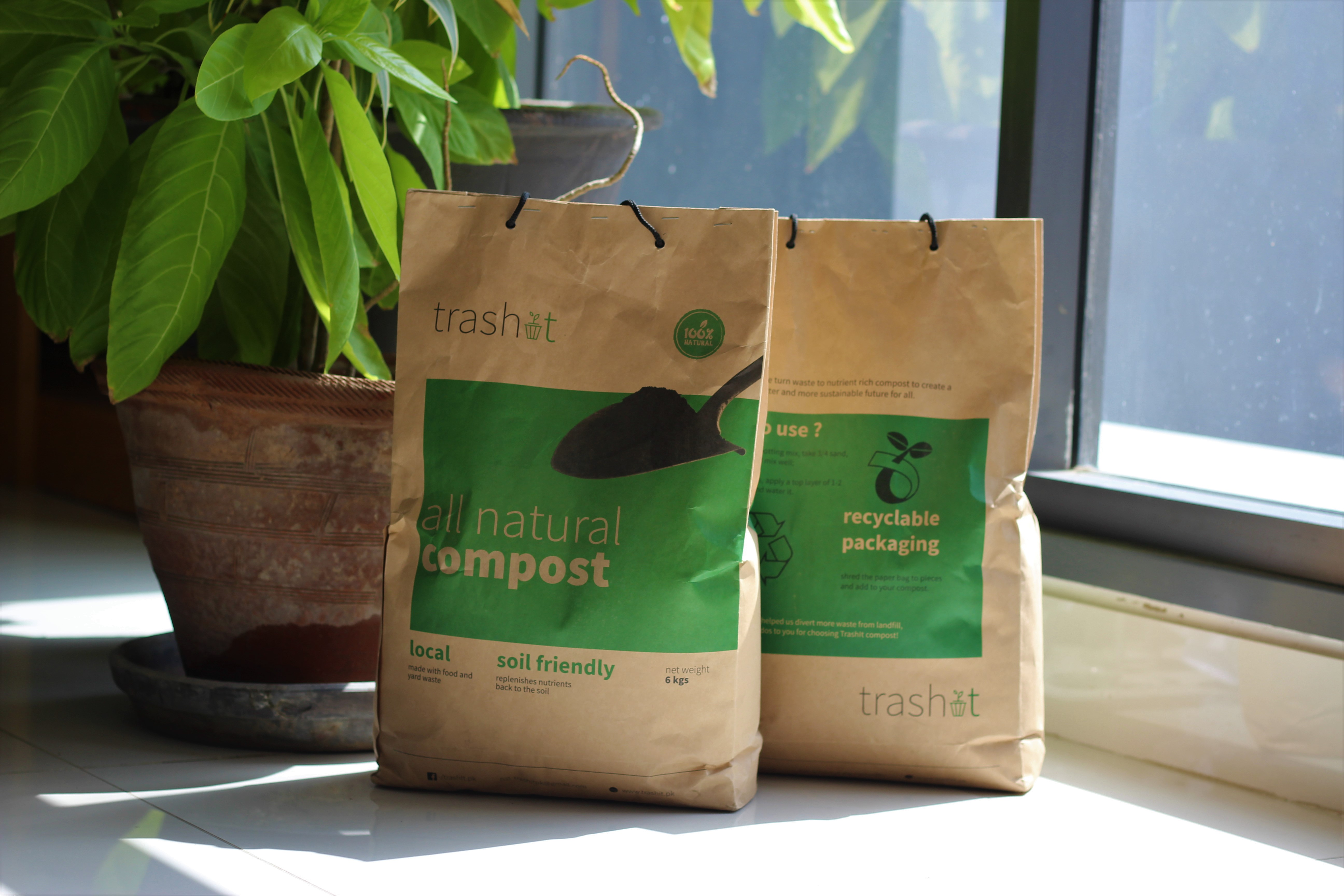 All Natural Nutrient Rich Compost         (6 Kg)